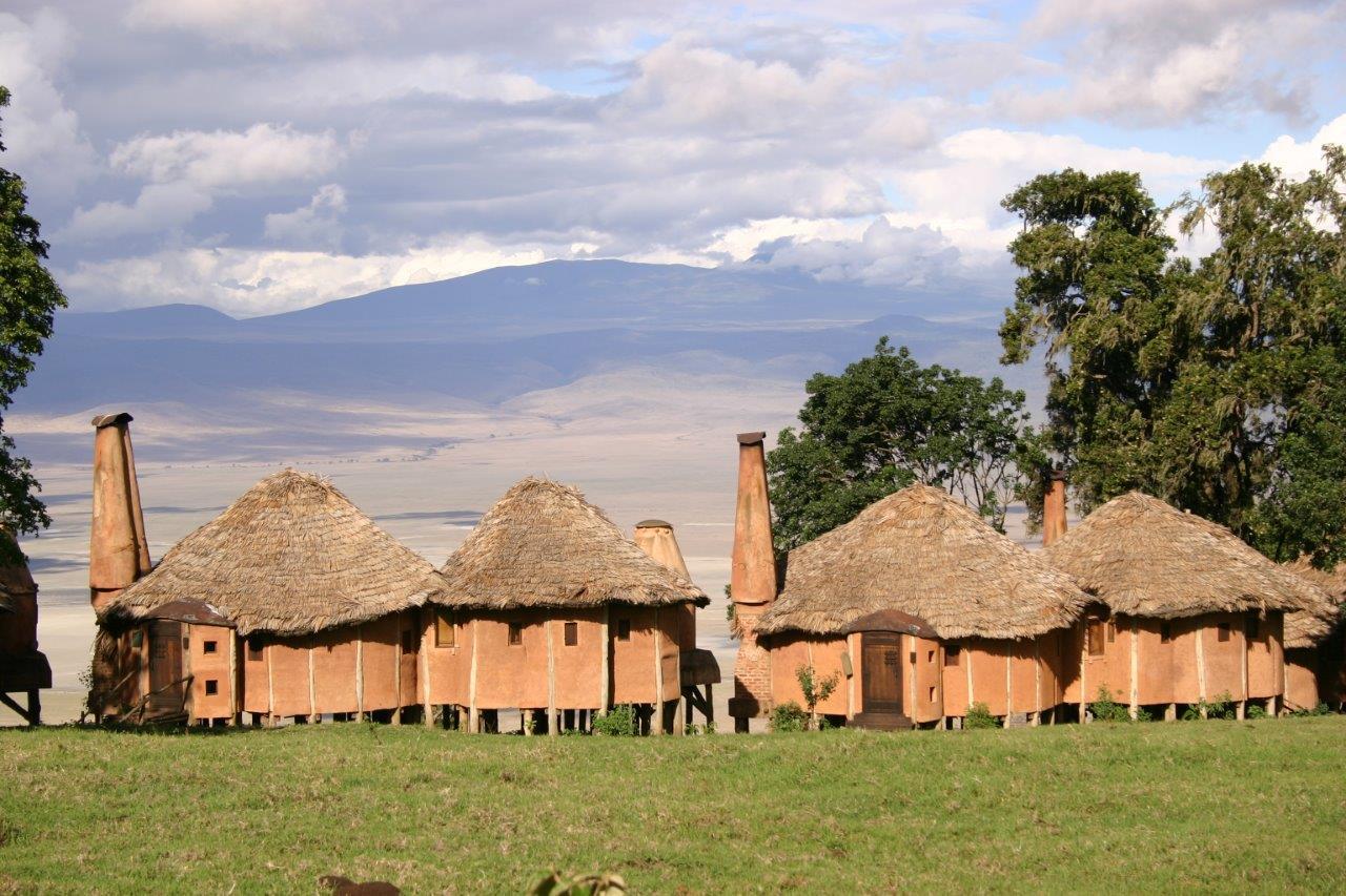 Tanzania Ngorongoro Crater Lodge.Ngorongoro Crater Lodge