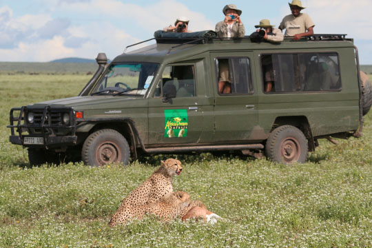 Africa Dream Safaris Film Shoot - 2 - April 2010