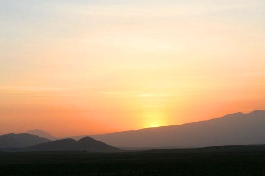 Sunrise Angata Kiti - February 2011