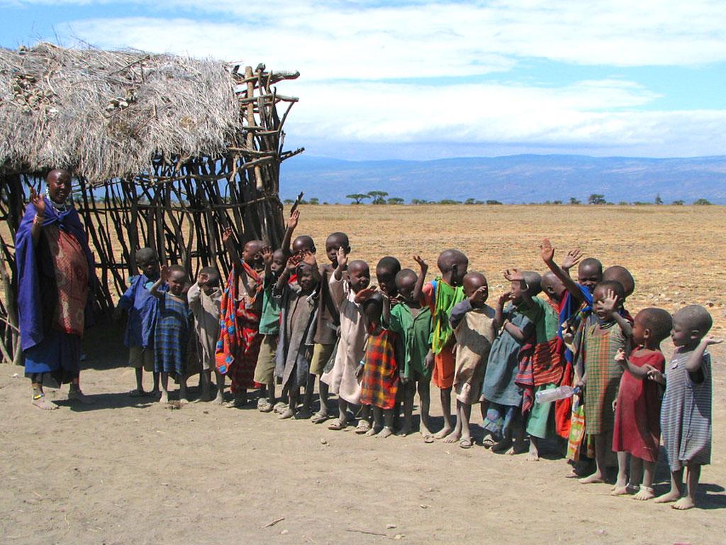 Maasai School Children