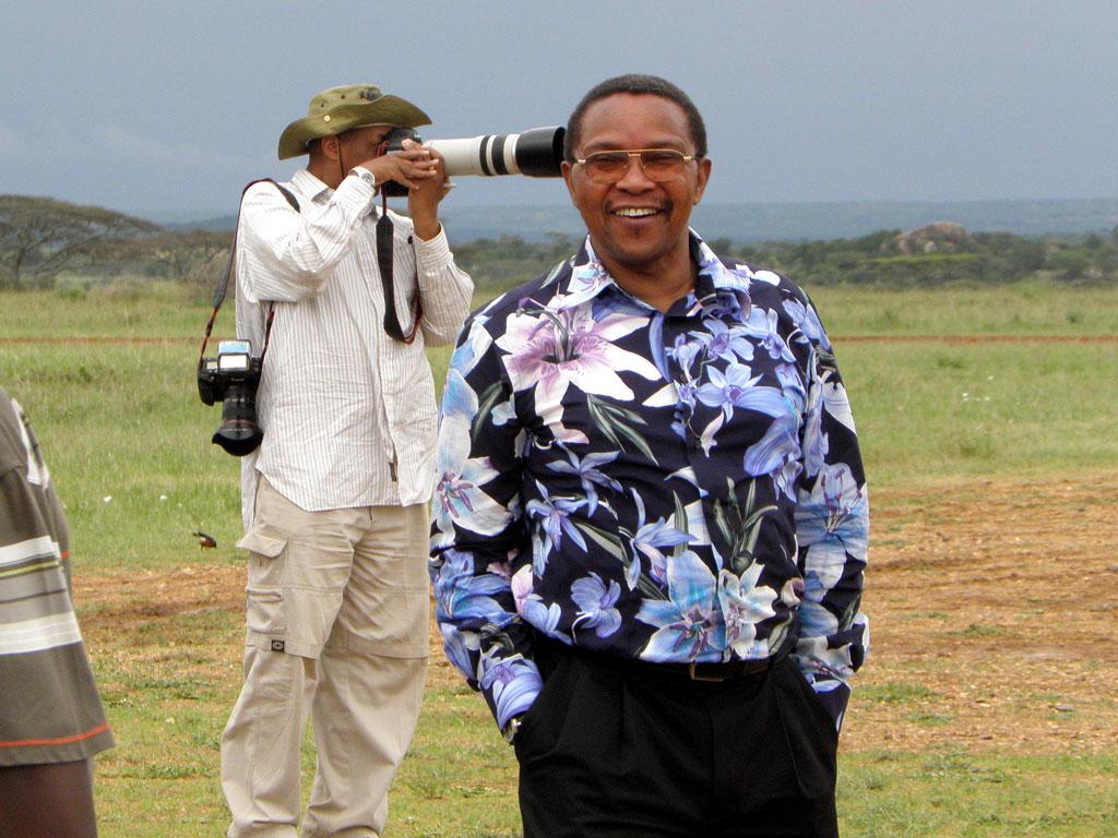 President Kikwete of Tanzania
